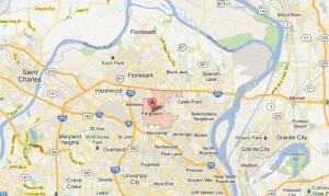 Ferguson-Mo-63135-63136-63145-Appliance-repair-Service-Map